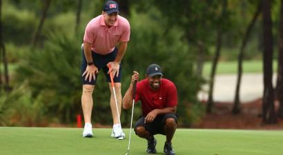 Golfa un NFL zvaigznes labdarības spēlē saziedo 20 miljonus dolāru