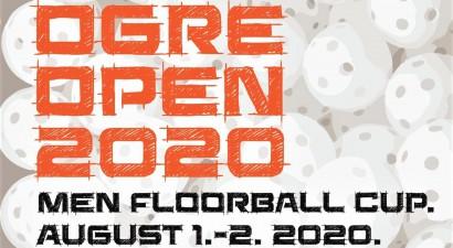 """Augustā sākumā pirmo reizi notiks florbola turnīrs """"Ogre Open 2020"""""""