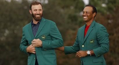 """Džonsons ar turnīra vēsturē labāko rezultātu kļūst par """"Masters"""" čempionu"""