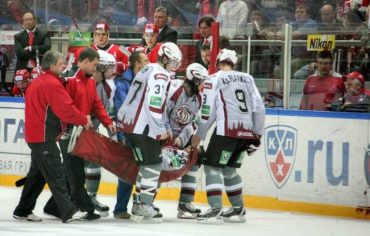 Another incident raises questions about KHL medical protocols Ebe7_11
