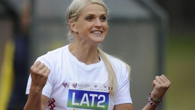 Mūze izpilda olimpisko normatīvu, vīri netiek pāri 80 metriem