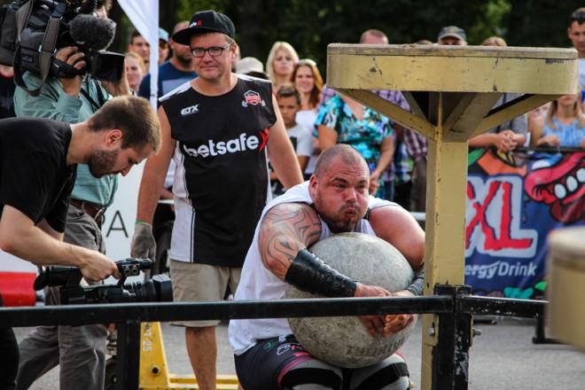 Ventspils svētkos notiks Spēkavīru čempionāta piektais posms