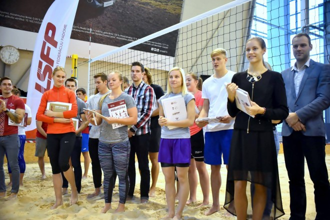 48 Latvijas studējošie sportisti tiek pie LSFP stipendijas