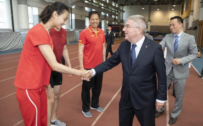 """Bahs: """"Nav nejauši, ka Āzijā notiek trīs olimpiādes pēc kārtas"""""""
