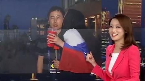 PK laikā turpinās bučošana: reportieris otrajā gadījumā izplūst smaidā