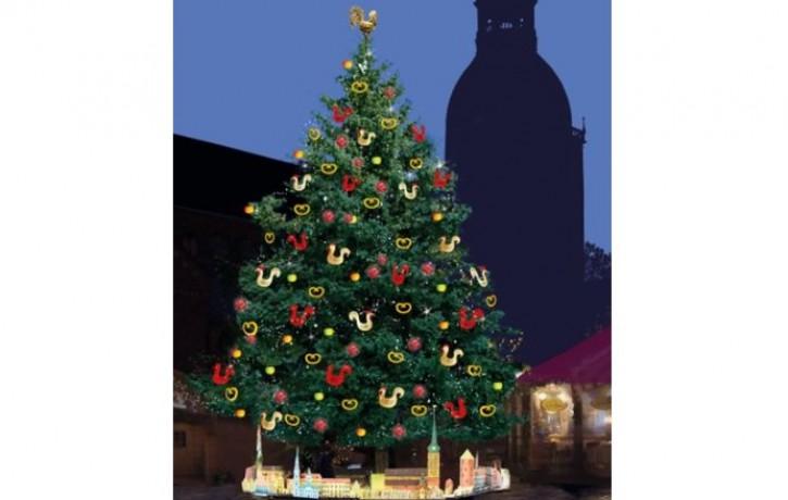 Pirmajā Adventē Doma laukumā iedegs egli un atklās Vecrīgas Ziemassvētku tirdziņu