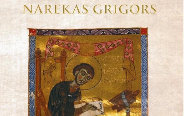"""Iznākusi Narekas Grigora """"Žēlabu grāmata"""""""
