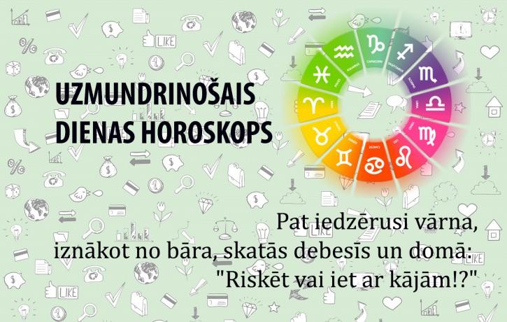 Uzmundrinošie horoskopi 4. janvārim