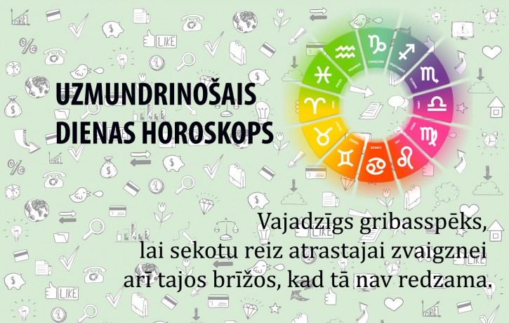 Horoskopi veiksmīgai dienai 13. maijam