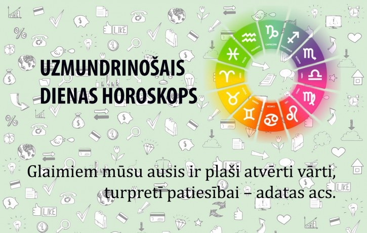 Horoskopi veiksmīgai dienai 16. maijam