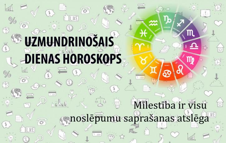 Horoskopi veiksmīgai dienai 31. maijam