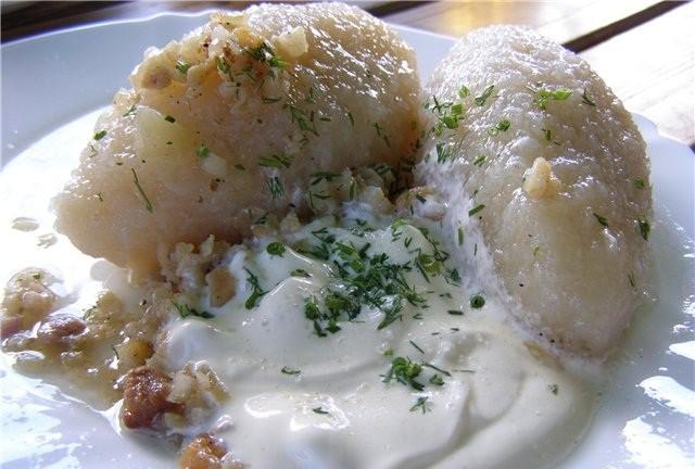 Cepelīni - lietuviešu virtuves gardums