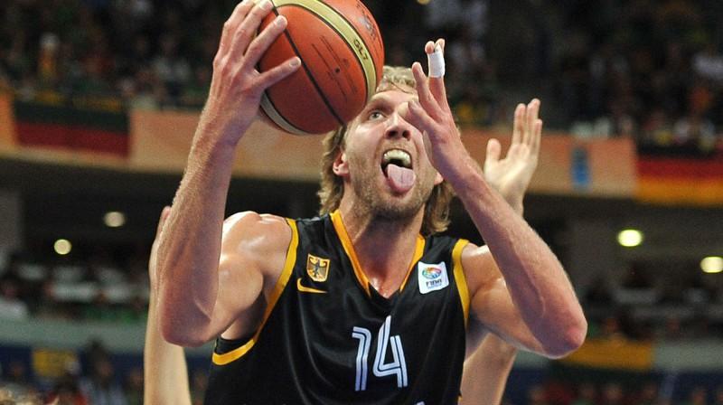 Dirks Novickis  Foto: AFP/Scanpix