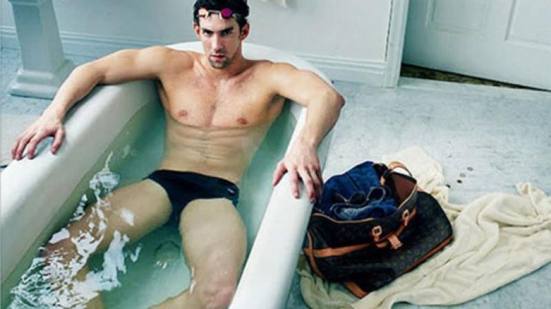 """Maikls Felpss reklamē """"Louis Vuitton"""""""