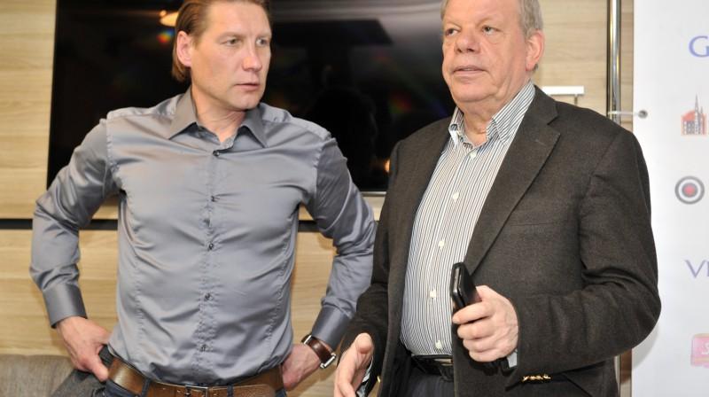 Aleksandrs Beļavskis un Kirovs Lipmans  Foto: Romāns Kokšarovs, F64