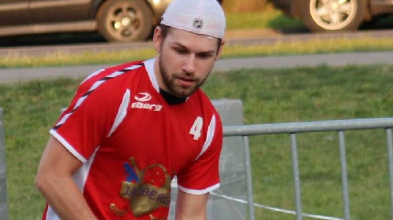 """Vīriešu turnīra pašlaik rezultatīvākais spēlētājs Krišjānis Zeps no """"Team RR/Biosteel"""" Foto: vasarasliga.lv"""