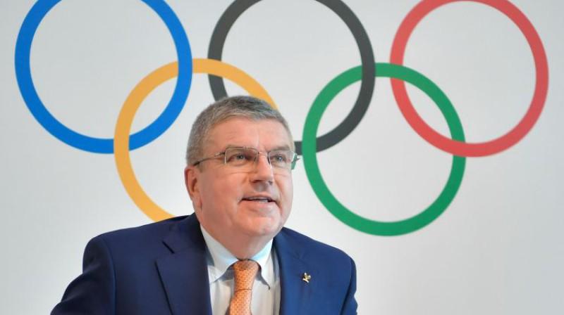 SOK prezidents Tomass Bahs Foto: AFP/Scanpix