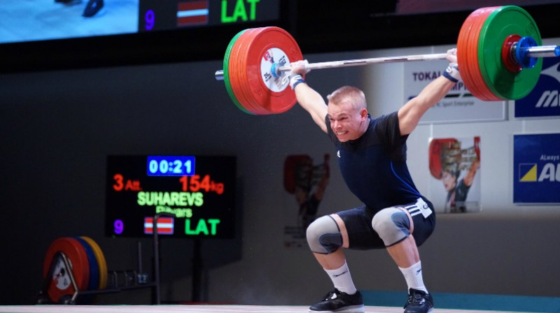Ritvars Suharevs. Foto: Japan Weightlifting Association