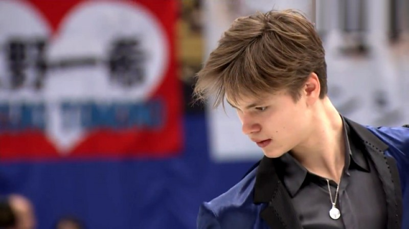 Deniss Vasiļjevs Foto: Eurosport 2