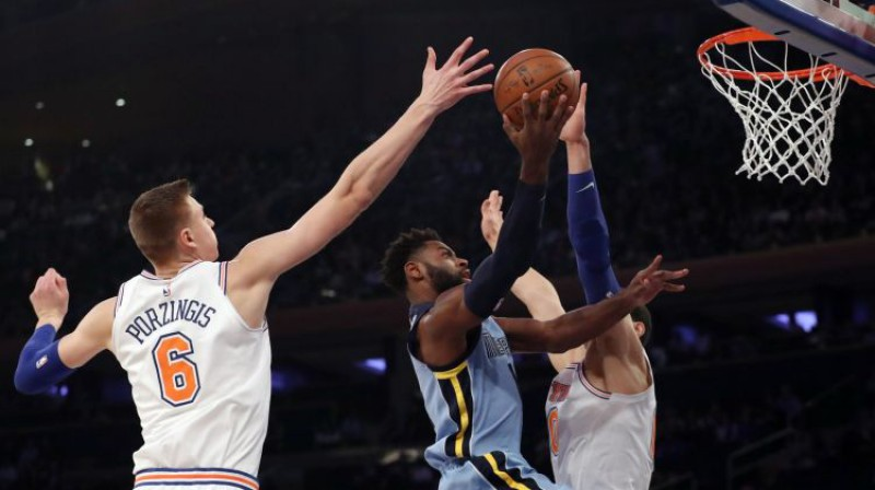 Kristaps Porziņģis pret Memfisu