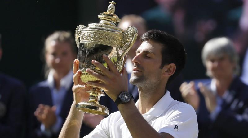 Novaks Džokovičs Foto: AP/Scanpix