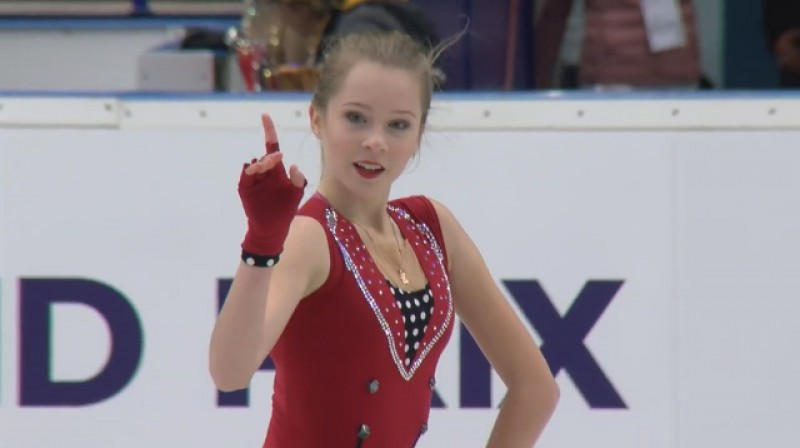 Anete Lāce. Foto: ISU Junior Grand Prix
