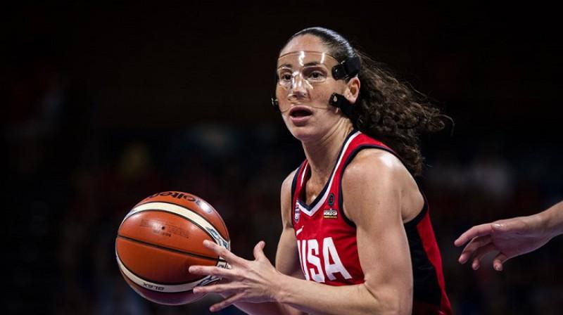 Sjū Bērda: piektais Pasaules kauss. Vai būs ceturtais zelts? Foto: FIBA