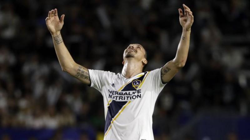 Zlatans Ibrahīmovičs. Foto: AP/Scanpix