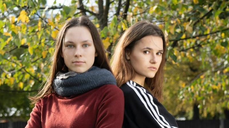 Jolanta Tarvida un Inese Tarvida. Foto: Mārtiņš Zilgalvis, F64 / Sporta Avīze
