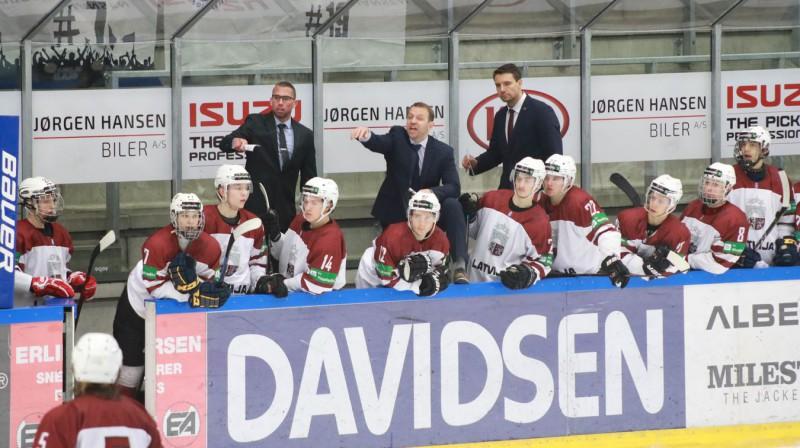 Latvijas U20 izlase. Foto: Tonya Long