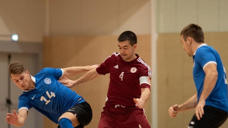Latvijas izlases kapteinis Maksims Seņs. Foto: jalgpall.ee