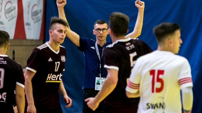 Arnolds Straume. Foto: handball.lv