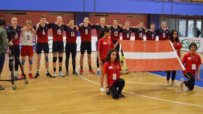 Puiši Armēnijā Foto: Latvijas Volejbola federācija