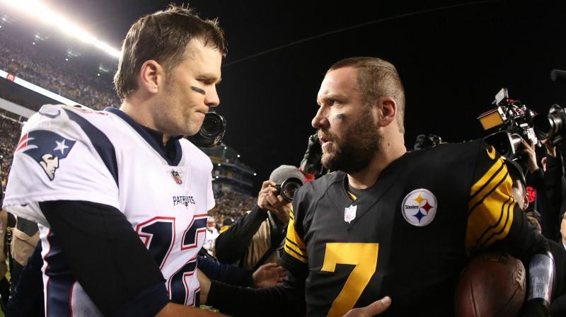 Toms Breidijs un Bens Rotlisbergers Foto: USA Today/Scanpix