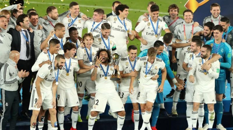 """Madrides """"Real"""" - izcīnīts ceturtais FIFA Pasaules klubu kauss. Foto: Reuters / Scanpix"""