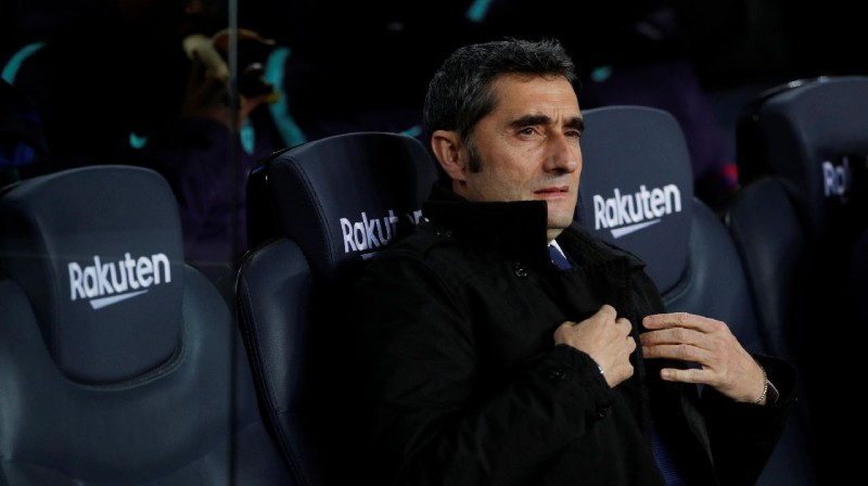 Ernesto Valverde. Foto: Reuters / Scanpix