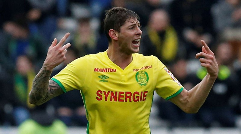 Emiliano Sala. Foto: Reuters/Scanpix
