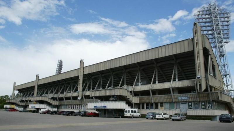 Daugavas stadions. Foto: Romāns Kokšarovs