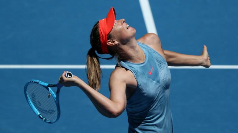 Marija Šarapova. Foto: Reuters / Scanpix