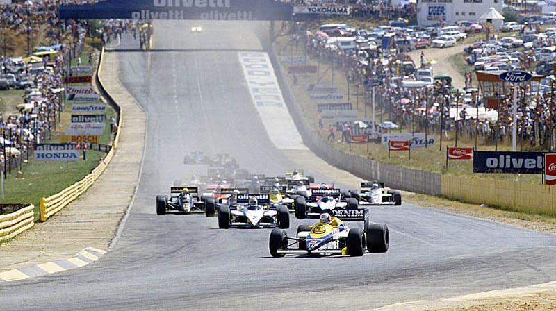 Iepriekš daudzas reizes F1 sacīkstes notikušas Kjalami trasē. Foto: Motorsport.com