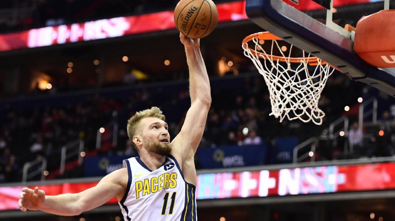 Domants Sabonis. Foto: AFP / Scanpix