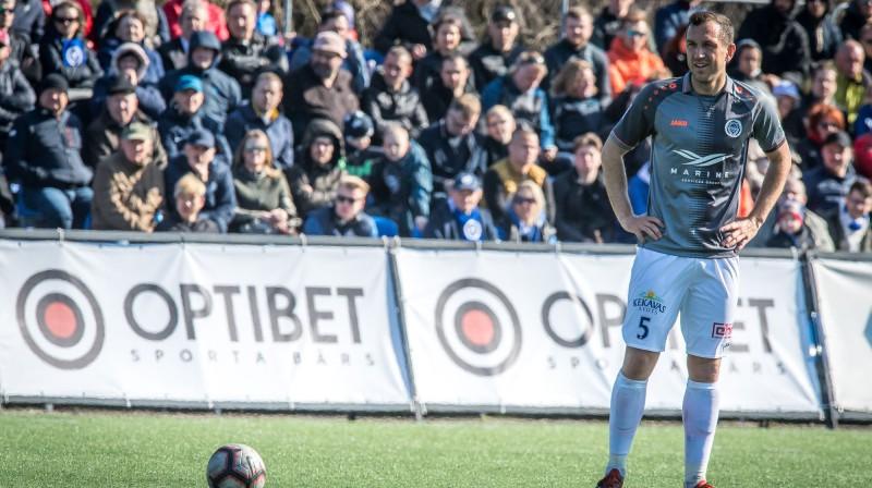 Oļegs Laizāns. Foto: Zigismunds Zālmanis (Riga FC)