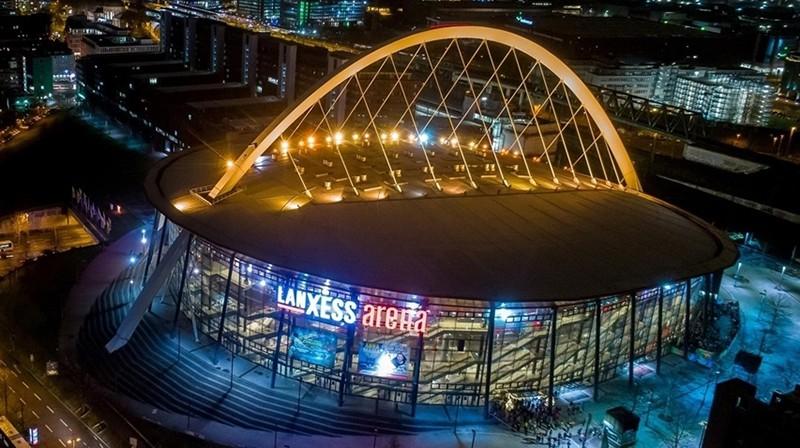 """""""Lanxess"""" arēna Ķelnē. Foto: euroleague.net"""