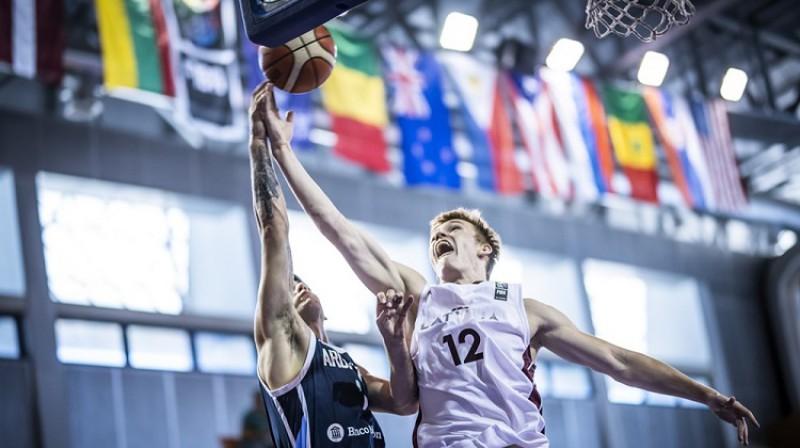 Mārcis Šteinbergs. Foto: FIBA
