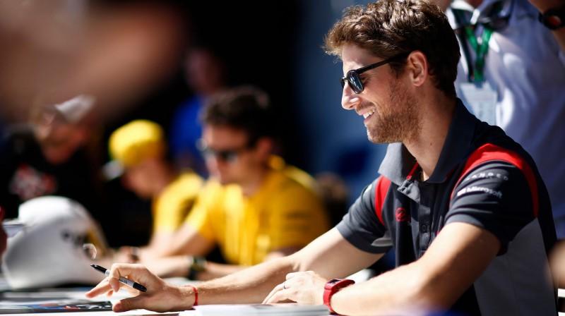 Romēnam Grožānam šī varētu būt pēdējā F1 sezona. Foto: Facebook.com/grosjeanromain
