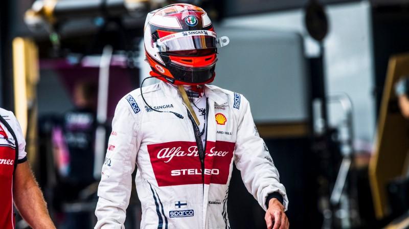 Kimi Raikonens. Foto: Alfa Romeo Racing