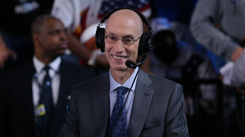 NBA komisārs Adams Silvers. Foto: Reuters / Scanpix