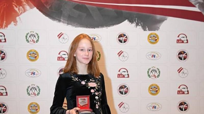 Anastasija Močaļina. Foto: Ilmārs Znotiņš, Latvijas Cīņas federācija