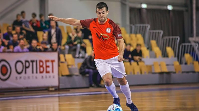 Maksims Seņs. Foto: FC Petrow