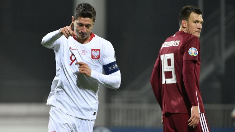 Roberts Levandovskis un Vitālijs Jagodinskis. Foto: Romāns Kokšarovs/F64